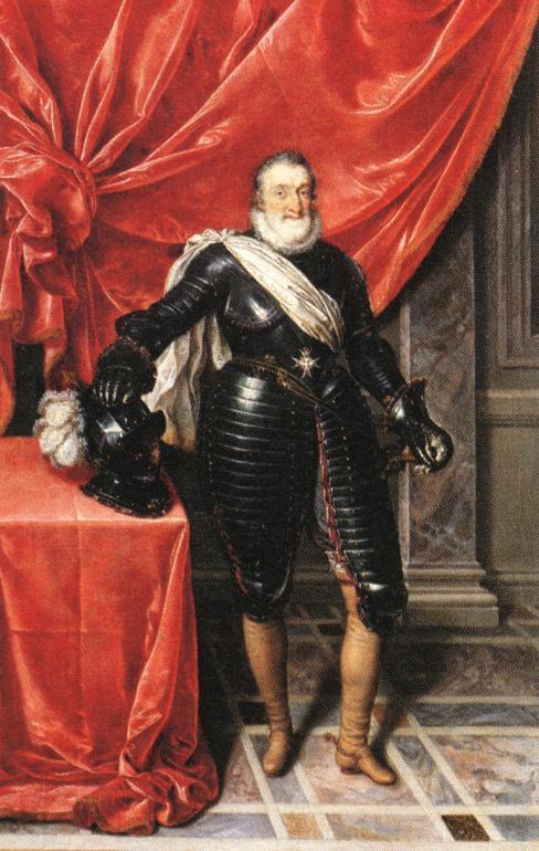 Koning Hendrik IV van Frankryk: Edik van Nantes